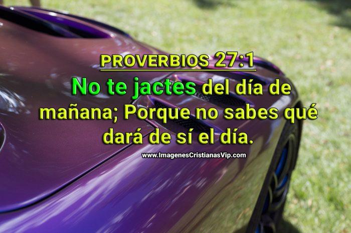 consejo de proverbios no jactarse imagen cristiana