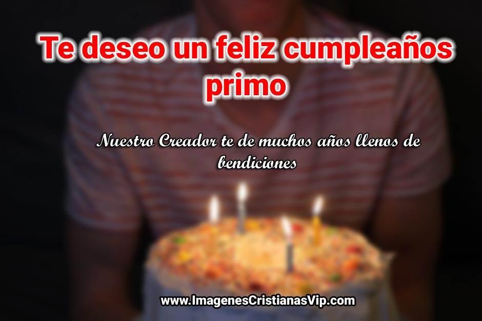 Imagenes cristianas feliz cumpleaños primo