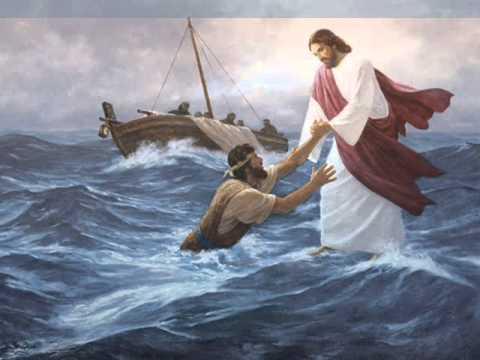 Jesús sobre las aguas