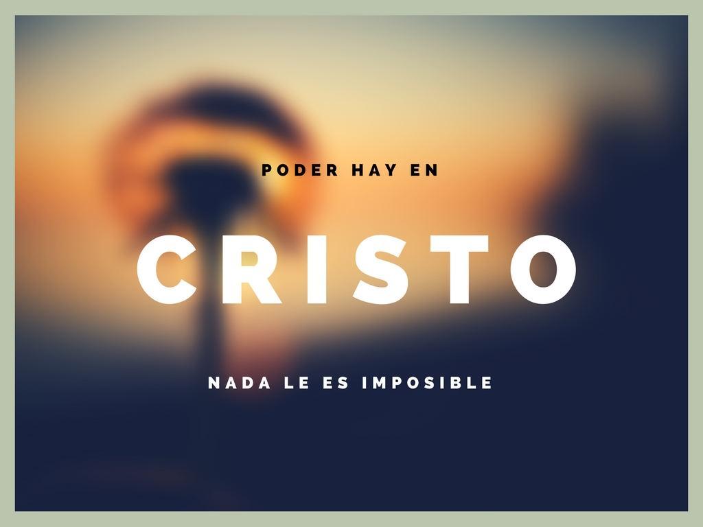 El cristo hay poder imagenes cristianas