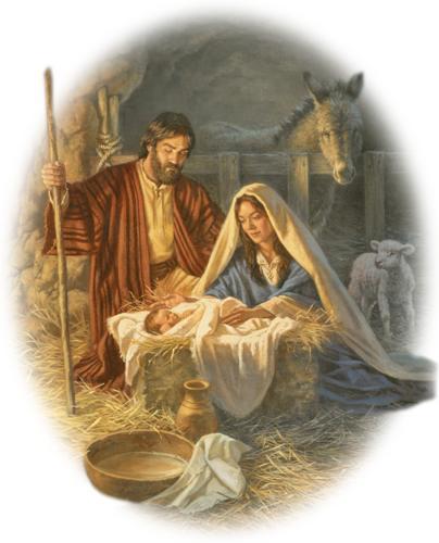 Fotos del niño jesus en el pesebre