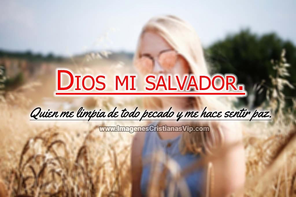 Imagenes cristianas dios mi salvador