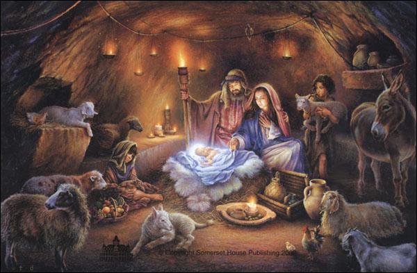 Imagenes del niño Jesús en el pesebre - Imagenes Cristianas